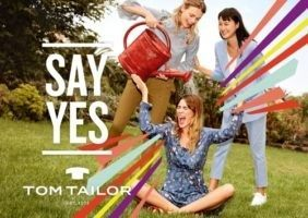 Tom Tailor: скажи да!